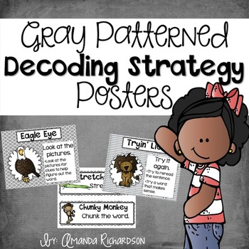 Decoding Strategy Posters {Gray}