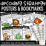 Decoding Strategy Posters & Bookmarks- Includes 7 Strategies