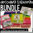 Decoding Strategy Task Card Bundle (Includes 7 Decoding Strategies and Posters)