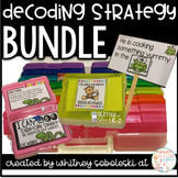 Decoding Strategy Task Cards-Includes 7 Strategies, Posters, and More!