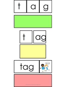 Word Family- ag Decoding Task (Autism and Special Education)