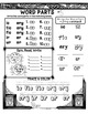 Decoding Word Parts Printables No Prep Halloween Spiders