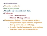 Decoding Word Problems Strategy