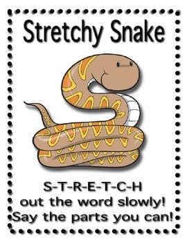 Decoding Words-Reading Strategies Poster Set