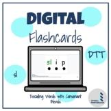 Decoding Words with Consonant Blend - sl - Discrete Trial Digital Flashcards