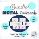 Decoding Words with Consonant Blends Discrete Trial Digital Flashcard BUNDLE