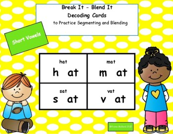 Decoding Cards Short Vowel Bundle