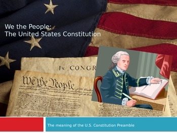Decoding the preamble of the U.S. constitution