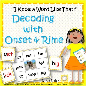 Onset & Rime: I Know a Word Like That!