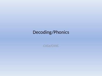 Decoding/Phonics Powerpoint