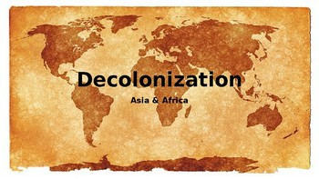 Decolonization of Asia and Africa