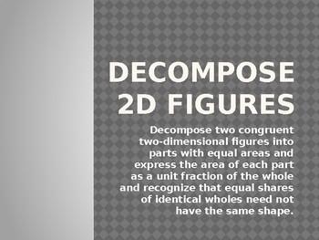 Decompose 2D Figures
