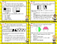 3.6E Decompose 2D Figures into Equal Areas Word Problem Task Cards STAAR