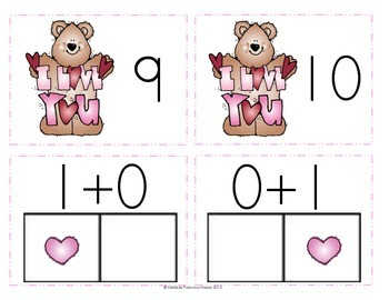 """Decompose Numbers: """"Beary Good Facts"""" Combinations up to 10 (CCSS)"""