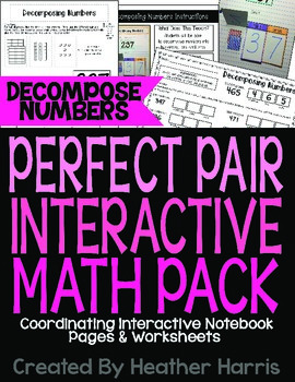 Decompose Numbers Interactive Pack