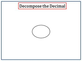 Decompose Numbers and Decimals