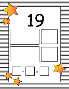 Decompose Numbers from 11 - 19 - K.NBT.A.1