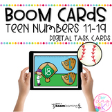 Decompose Teen Numbers   Boom Cards™