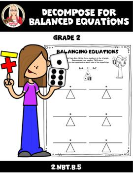 FREE! Decompose for Balanced Equations