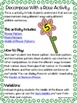 Addition: Decompose with a Rose Activity and Game