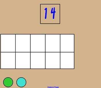 Decompose/Compose Using Ten Frames 11-19