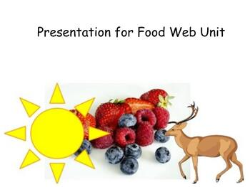 Decomposer, Consumer and Producer Presentation for Students with Significant Dis