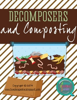 FREEBIE! Decomposers and Composting Reading Passage and Reading Guide