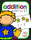 Addition to 10 and Problem Solving Unit (Projectable Lessons)