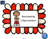 Decomposing 2 Digit Numbers SMART Board Lesson