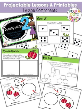 Decomposing 2 and Number Bonds Lesson