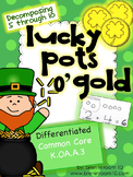 St. Patrick's Day Math - Decomposing 5, 6, 7, 8, 9, 10