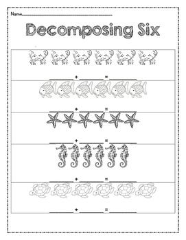 Decomposing 6 Ocean Theme