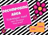 Decomposing AREA Scavenger Hunt   TEK 3.6D