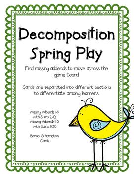Decomposing Addition Game