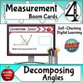 Decomposing Angles Boom Card ™ Math Center Activity good f