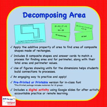 Decomposing Area