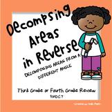 Decomposing Areas in Reverse Activity