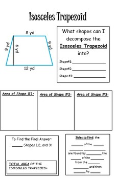 Decomposing Complex Figures and Trapezoids Book