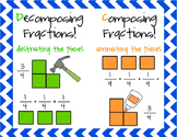 Decomposing & Composing Fractions Poster!
