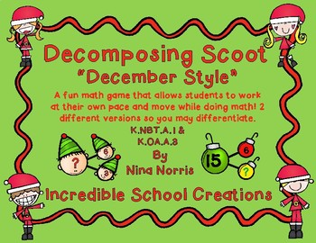 Decomposing December Scoot - Differentiated