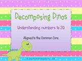 Decomposing Dinos Number Sense Game