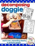 Decomposing Doggie Number Bond Printables and Work Mat