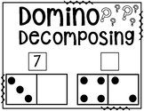 Decomposing Dominoes - Number Bond Worksheets #teacherslov