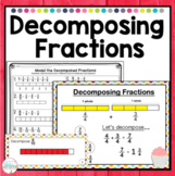 Decomposing Fractions 4th grade