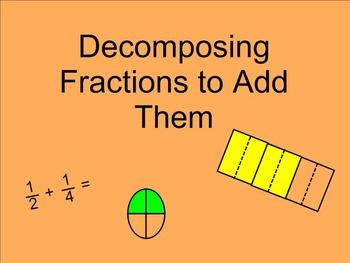 Adding Fractions SMARTnotebook