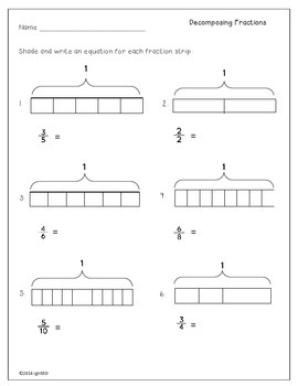 Decomposing Fractions to Multiply by a Whole Number