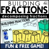 Decomposing Fractions using Unit Fractions Game | Free