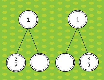 Decomposing Fractions with Number Bonds  4.NF.B.3