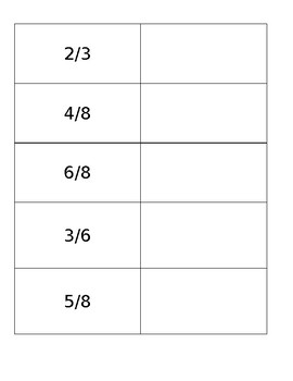 Decomposing Fractions with Number Bonds Worksheet