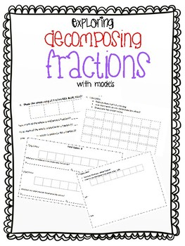 Decomposing Fractions (with models)